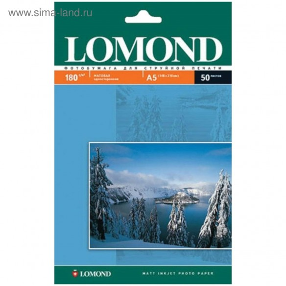 Фотобумага Lomond А5